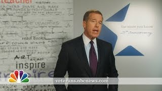 Brian Williams: PSA on Veterans