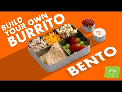 Picky Eater Bento #5! Build Your Own Burrito Back To School Recipes!