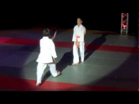 Elèves du shoshin dojo, Octobre 2012 - Gala des arts martiaux de Soumagne