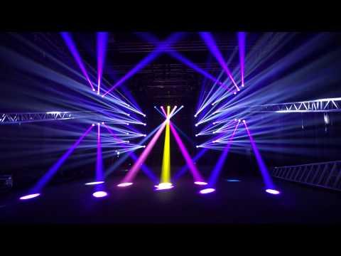 Đèn Moving Head Beam 230W sử dụng cho sân khấu chuyên nghiệp
