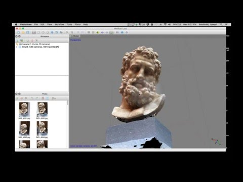 Intro to Agisoft Photoscan to Cinema 4D