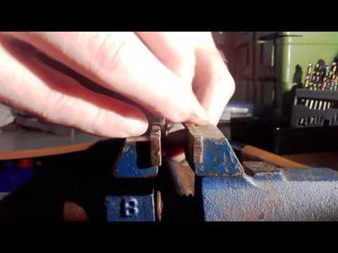 Bend the key hook  Schlüssel zu Haken biegen Schlüsselbrett Schlüsselhaken