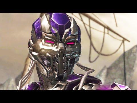 Video Mortal Kombat X Triborg Gameplay Arcade Ladder Walkthrough Fatality Fatalities Triborg Ending download in MP3, 3GP, MP4, WEBM, AVI, FLV January 2017