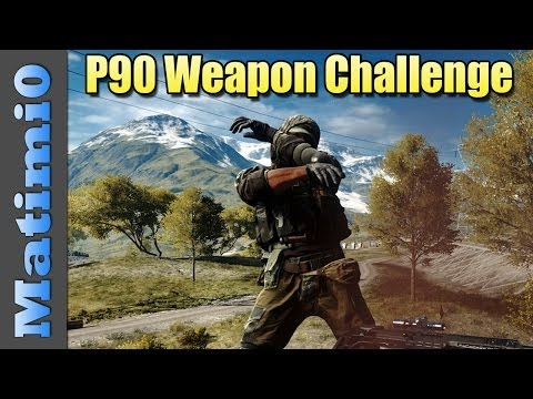 P90 - Today I'm using the P90 PDW with the ACOG scope & Heavy Barrel attachments in Battlefield 4. Let me know if there is a terrible setup you want me to try next...