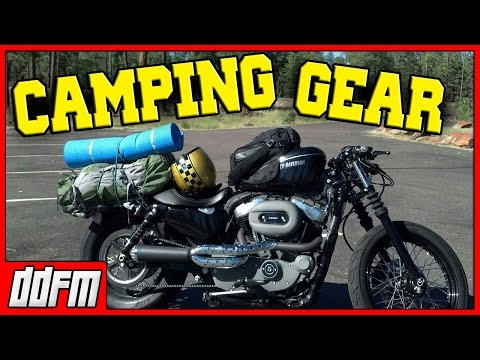 6 Motorcycle Camping Tips and Equipment / How to Go Motorcycle Camping