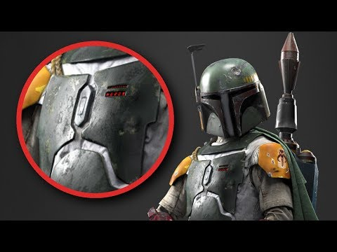 Why Boba Fett's ARMOUR Was So BATTERED...