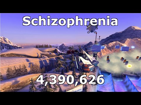 Schizophrenia - 4.39 million