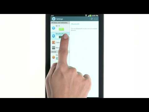 Setting Up Wi-Fi and Bluetooth - Samsung Galaxy Tab 3 (AT&T, SM-T217A)