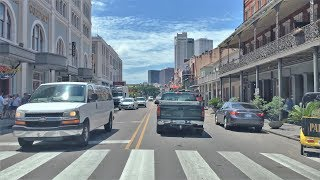Decatur (IN) United States  city photo : Driving Downtown - Decatur Street - New Orleans USA