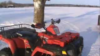 8. 2008 Polaris Sportsman 500 HO Cold Start