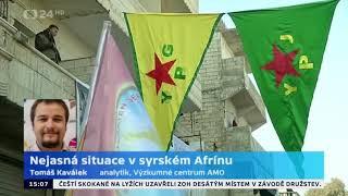 Nejasná situace v syrském Afrínu