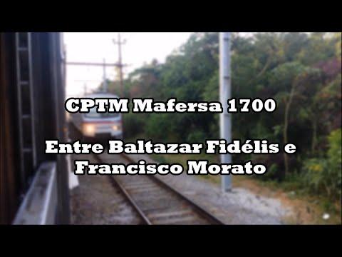 Trajeto entre Baltazar Fidélis e Francisco Morato a bordo de um 1700