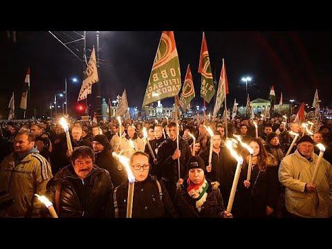 Διαδήλωση της αντιπολίτευσης κατά της κυβέρνησης του Βίκτορ Όρμπαν …