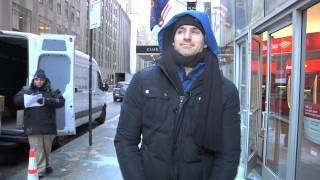 Ben Aaron Braves The Cold...Then Warms Your Soul
