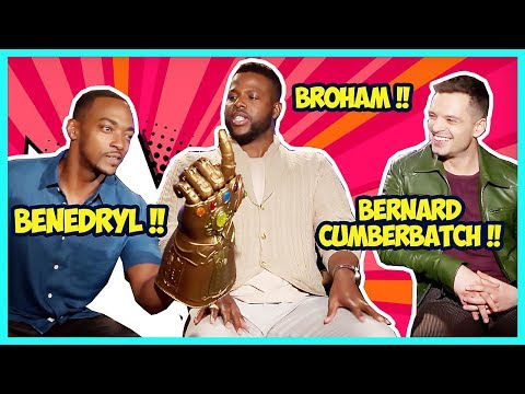Avengers Infinity War Cast Is Hilarious (Making Fun Of Benedict's First Name)