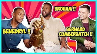 Video Avengers Infinity War Cast Is Hilarious (Making Fun Of Benedict's First Name) MP3, 3GP, MP4, WEBM, AVI, FLV Maret 2019