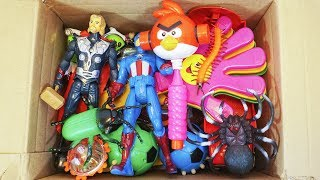 Video Box Full of Toys truck,spinners,spider man,angry birds,Action Figures MP3, 3GP, MP4, WEBM, AVI, FLV September 2018