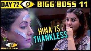Video BIG BOSS 11 | Shilpa Shinde Insults Hina Khan | Day 72 | 12th December 2017 | Full Episode Update MP3, 3GP, MP4, WEBM, AVI, FLV Desember 2017