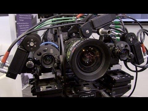 NAB2014: Fraunhofer Trifokales Stereo-3D-System