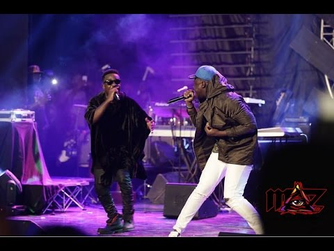 Sarkodie performs 'Trumpet' for the first time @ Rapperholic concert '16 | Ghana Music