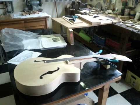 Building an archtop jazz guitar