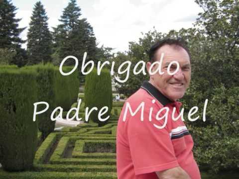 Homenagem ao Pe Miguel luis de Souza