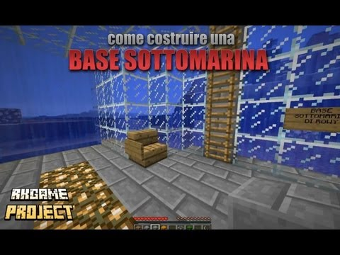 Parete Dacqua In Casa : Come costuire una casa sottacqua su minecraft con parete dacqua