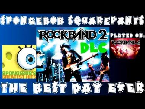 SpongeBob SquarePants - The Best Day Ever - Rock Band 2 DLC Expert Full Band (March 31st, 2009)