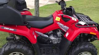 10. 2007 Can-Am Outlander 500 H.O. EFI XT