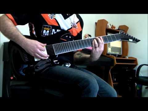 ESP Stef B8 - Deftones - Gauze, 8 String Guitar Cover
