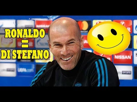 ZINEDINE ZIDANE FULL PRE MATCH PRESS CONFERENCE: [RONALDO IS LIKE STEFANO IN REAL MADRID]!