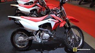 10. 2015 Honda CRF 125F - Walkaround - 2015 Salon Moto de Montreal