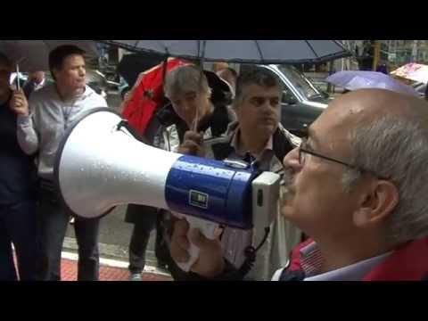 Συγκέντρωση διαμαρτυρίας και απεργία φυσικοθεραπευτών