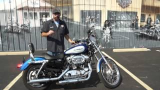 7. 2010 Harley-Davidson Sportster XL1200C!