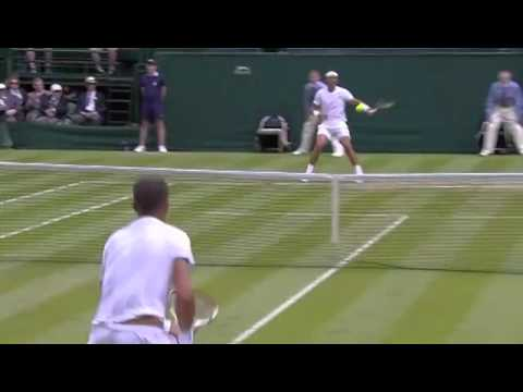 Rafa Nadal's lightning speed – Wimbledon 2014