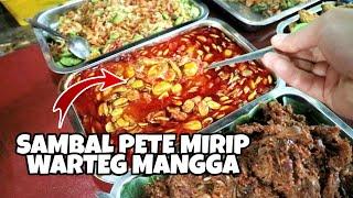 Video SAMBAL PETE INI BIKIN MELELEH SAINGAN WARTEG MANGGA !! DALAM GANG KALIMATI ft Asik Banget MP3, 3GP, MP4, WEBM, AVI, FLV Februari 2019