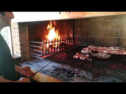 El verdadero asado Uruguayo !