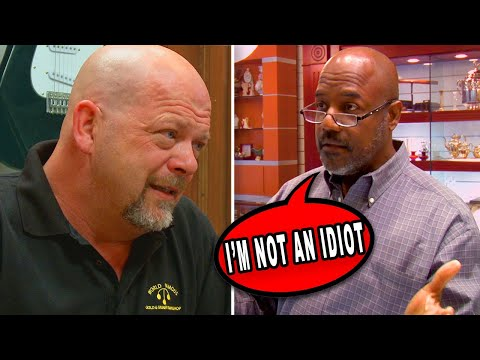 10 Times The Pawn Stars Faced Professional Negotiators...