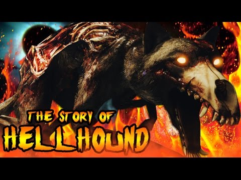 The Story Of HELLHOUNDS! SAMANTHAS EVIL DOG FLUFFY! Call Of Duty Black Ops Zombies Storyline