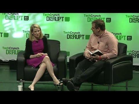 Marissa Mayer On the Last Two Years | Disrupt NY 2014