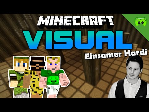 MINECRAFT Adventure Map # 3 - Visual Project 2 «» Let's Play Minecraft Together | HD