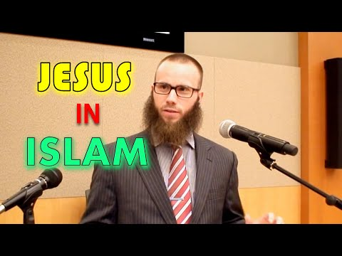 Jesus & Muhammad Brothers in Faith by Joshua Evans in Public Lecture