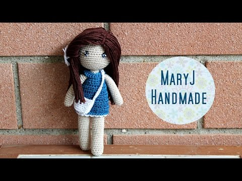 tutorial amigurumi per realizzare una bambolina all'uncinetto
