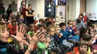 Video Výchovný koncert pro děti  v Olomouci MŠ při UP 17.12.2015