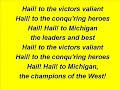 University of Michigan - Fight Song