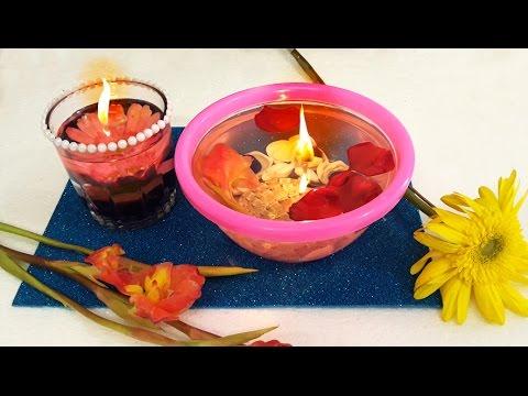 diy – candela ad acqua