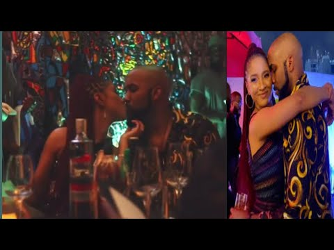 Banky W throws surprised 32nd birthday party for wife, Adesua Etomi