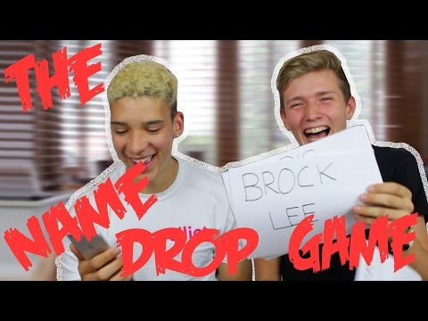 NAME DROP CHALLENGE! FT. ELLIOT CRAWFORD