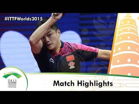 WTTC 2015 Highlights: FAN Zhendong/ZHOU Yu vs MATSUDAIRA Kenta/NIWA Koki (1/2)