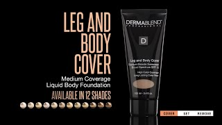 How to Use Dermablend Leg and Body Cover